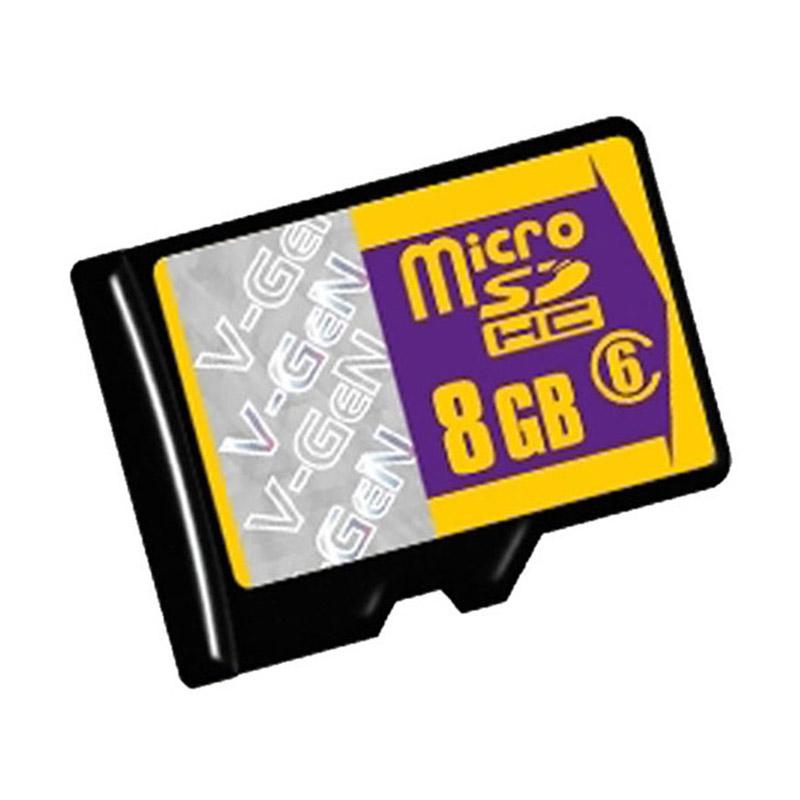 harga V-GEN Transflash Micro SD HC Memory Card [CPRM License/Class 6/8 GB] Blibli.com