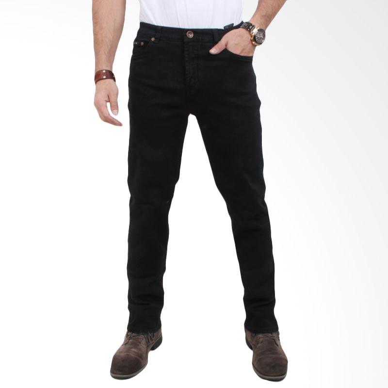 Valentino Celana Panjang Premium Black Jeans 7091511
