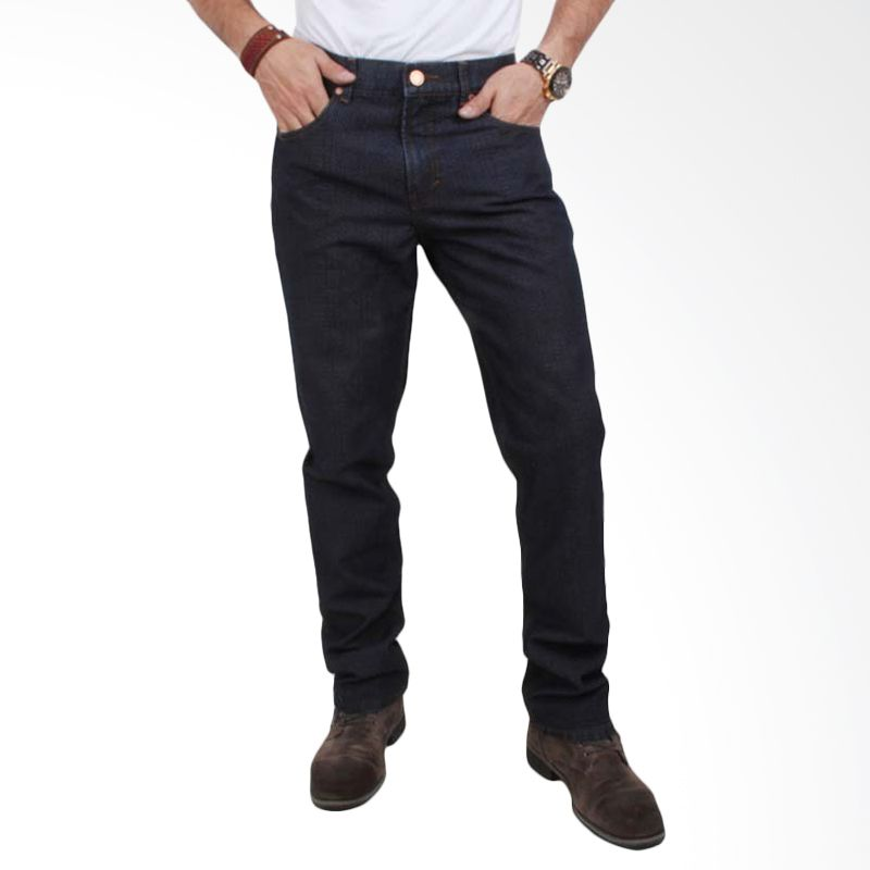 Valentino Celana Panjang Premium Medium Blue Jeans 7111502