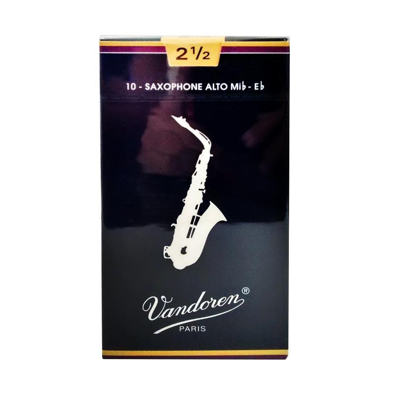 harga Vandoren Alto Saxophone Traditional Reed #2.5 Blibli.com