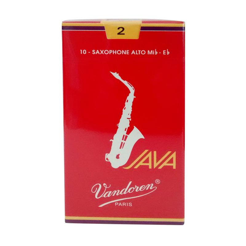 Vandoren Reed Alto Saxophone Java Red #2 Alat Musik