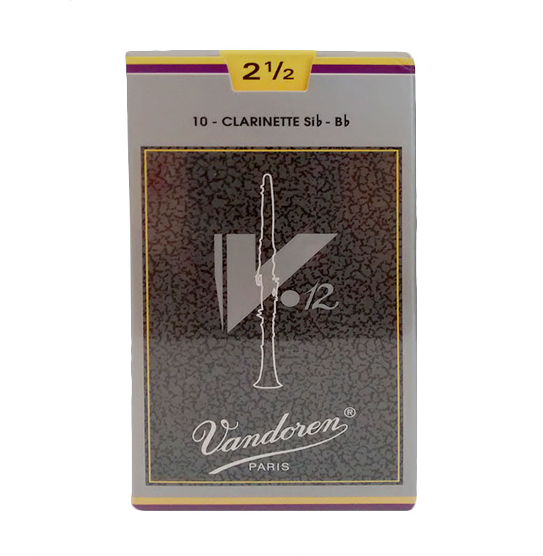 Vandoren V12 Clarinette Saxophone Reed #2.5