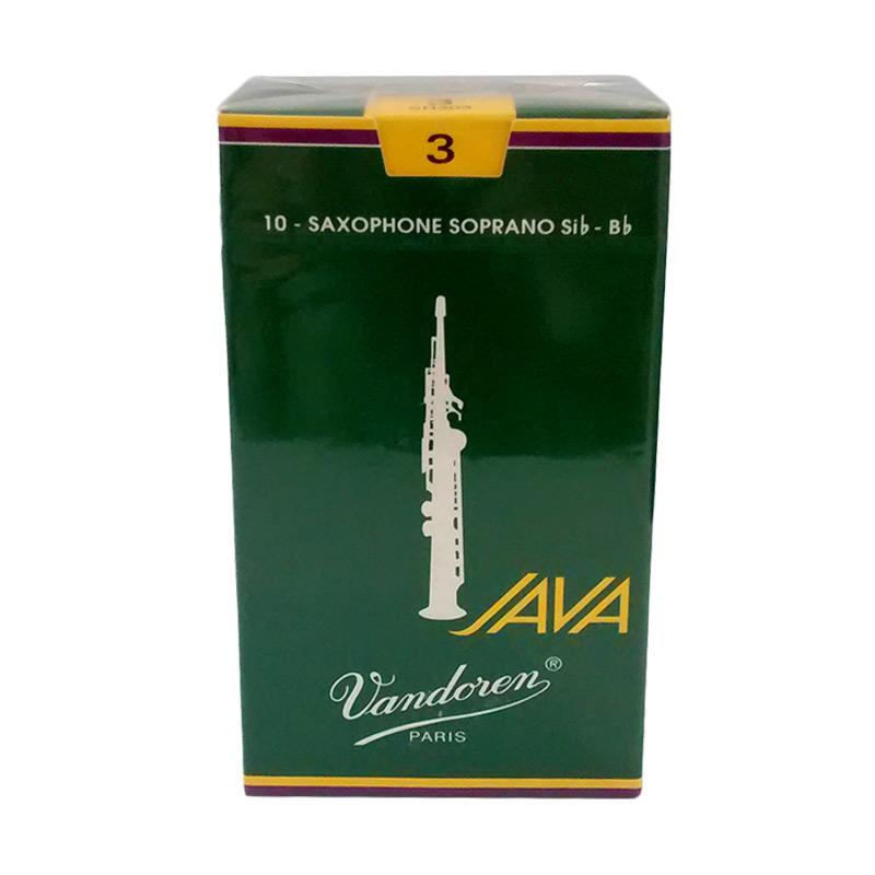Vandoren Java #3 Reed Saxophone - Green
