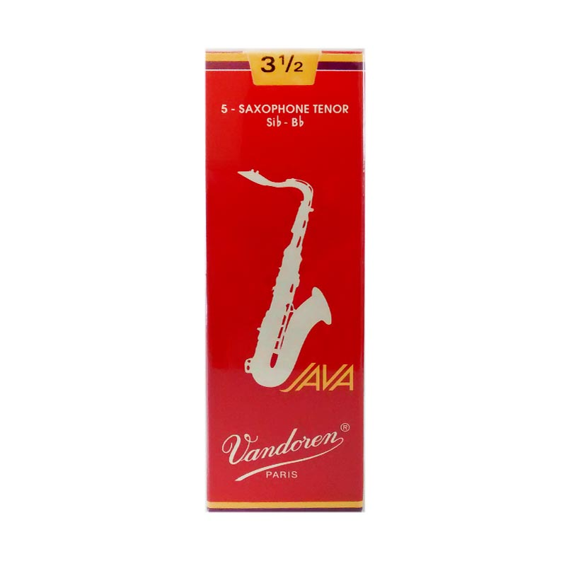 Vandoren Reed Tenor Saxophone Java Red #3.5