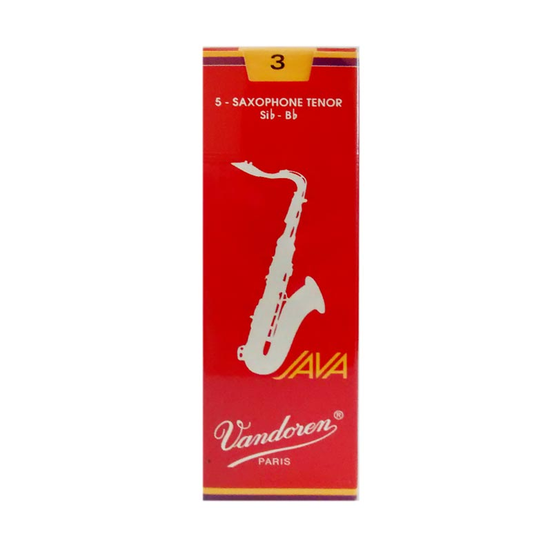 Vandoren Reed Tenor Saxophone Java Red #3