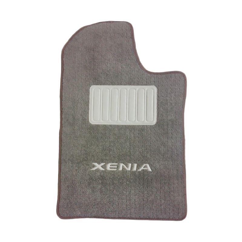 Varia Baru Xenia VVTi Bludru Cream Karpet Mobil [6 Pcs]
