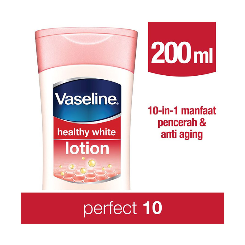 Vaseline Lotion Healthy White Perfect 10 200ml