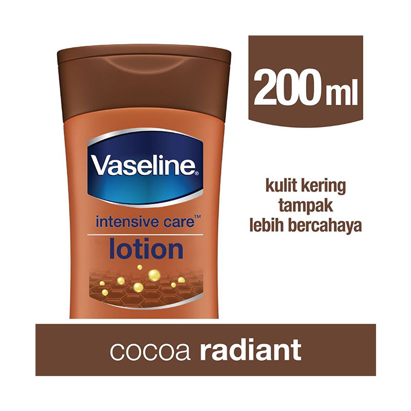 Vaseline Lotion Intensive Care Cocoa Radiant 200ml