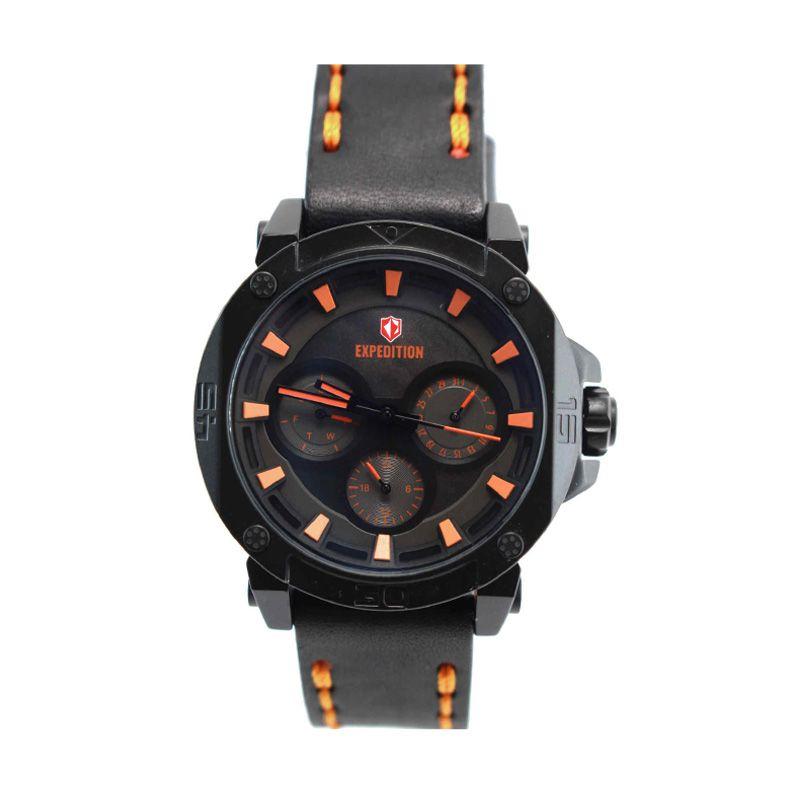 Expedition 6606 BFLIPBAOR Black Orange Jam Tangan Pria