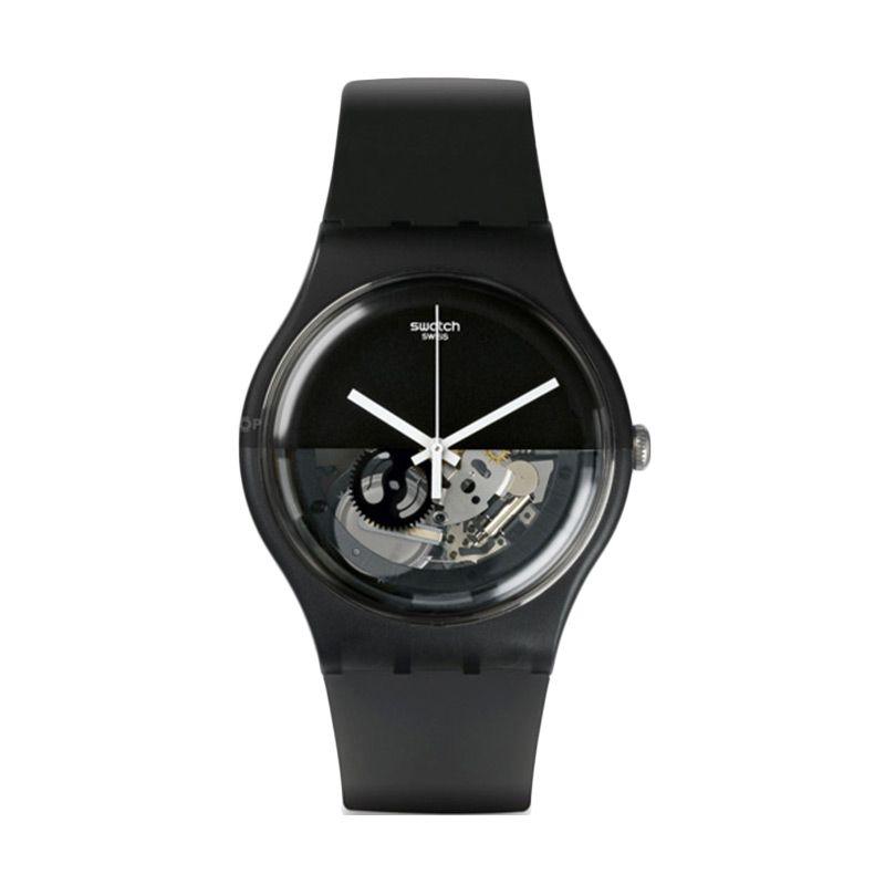 Swatch SUOB116 Black Jam Tangan Pria