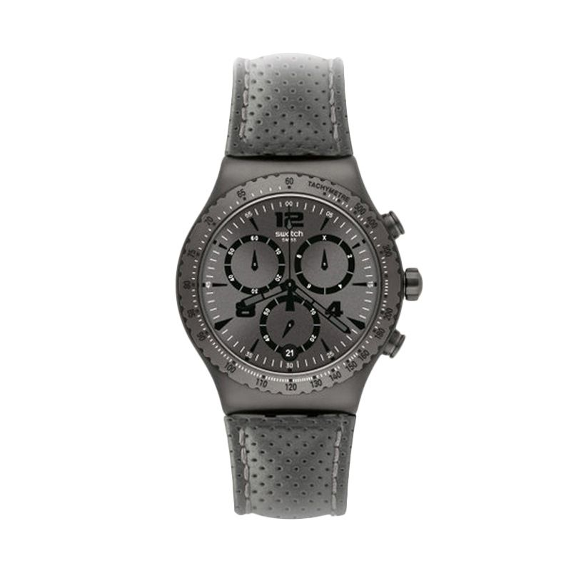 Swatch YVM400 Grey Jam Tangan Pria