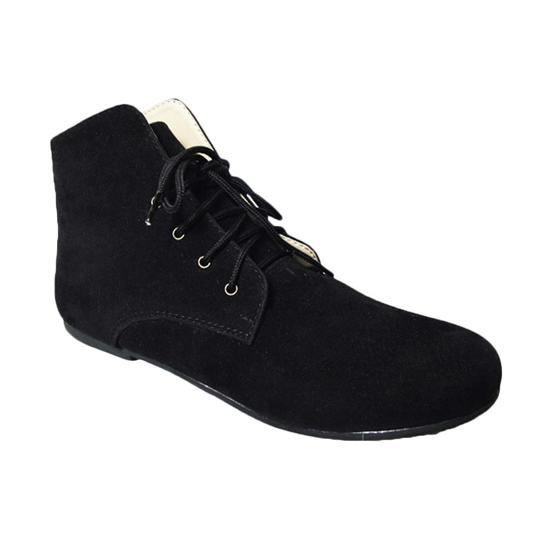 Vega Shoes Husky Black Sepatu Wanita