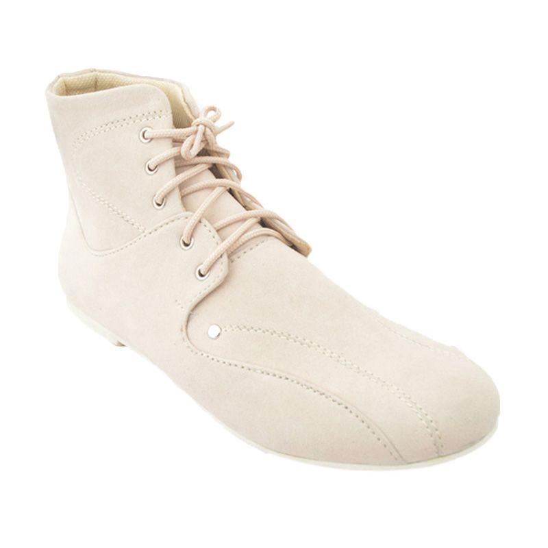 Vega Shoes Lovely Cream Sepatu Wanita
