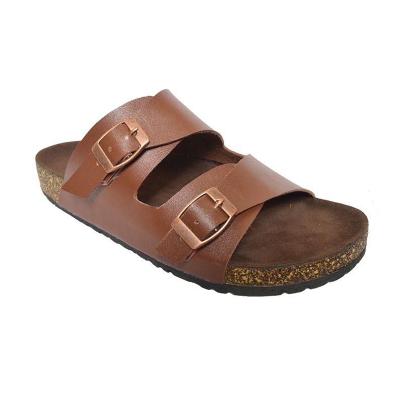 Vega Shoes Brown Sandal Wanita