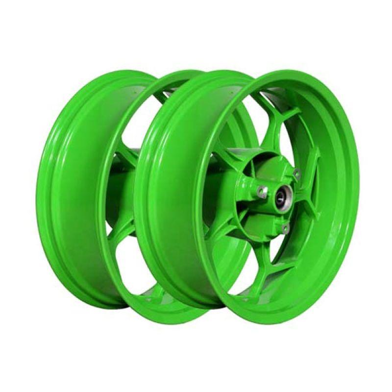 V-Rossi Velg N10 Ninja 17 Inch (300 - 550) Big Green