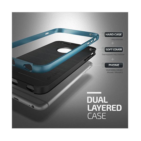 Jual VERUS High Pro Shield Case Casing for iPhone 6s / iPhone 6 - BLUE Terbaru - Harga Promo Juli 2019 | Blibli.com