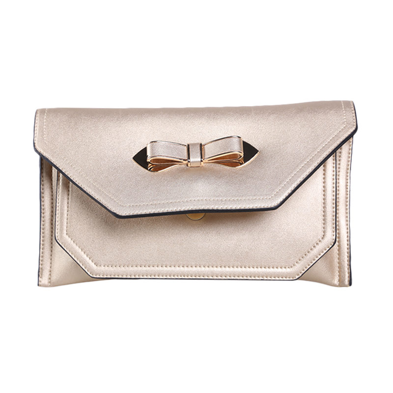 Verzoni 3310 Gold Zaskia Clutch Bag
