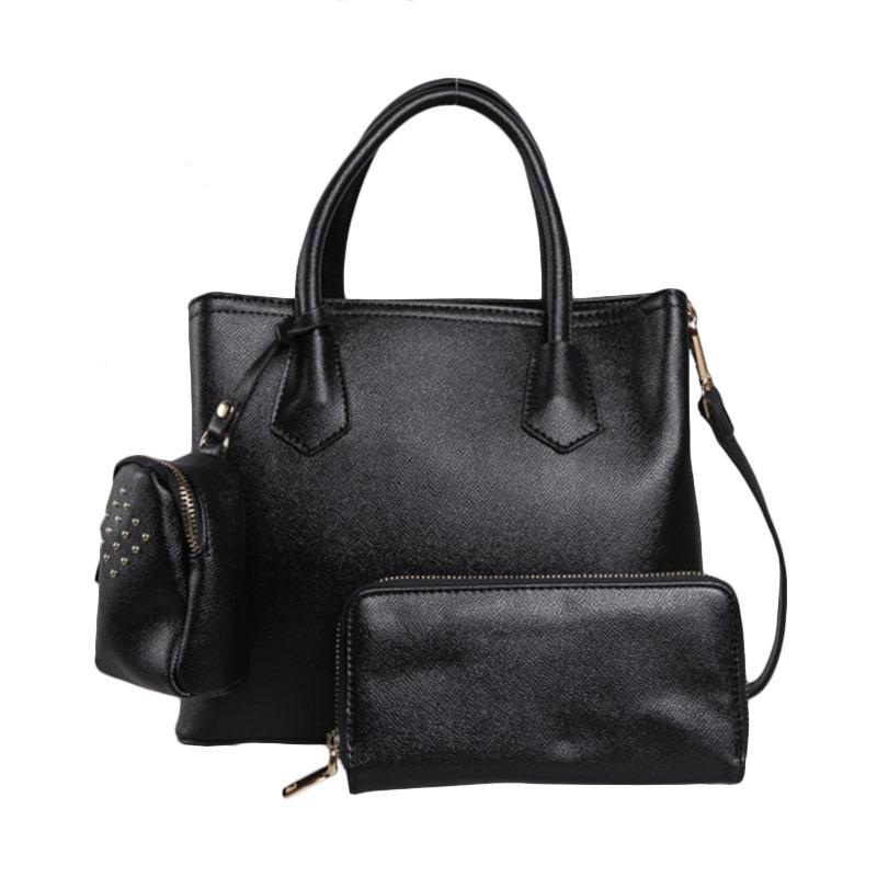 Verzoni Adele Bag Black 9126 Tas Tangan Wanita