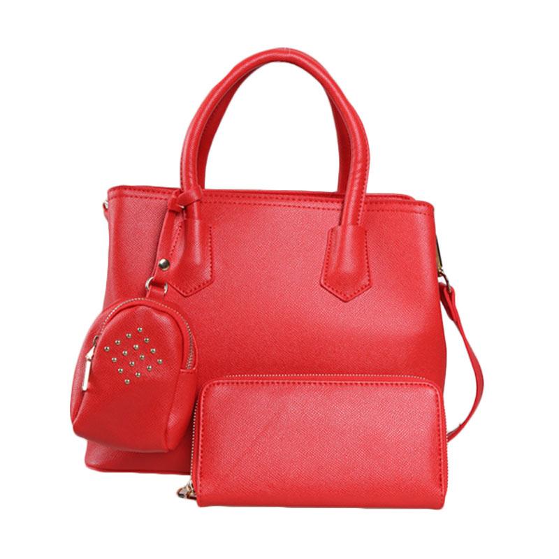 Verzoni Adele Bag Red 9126 Tas Tangan Wanita