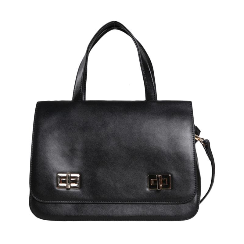 Verzoni YL-15109 Amber Black Handbag