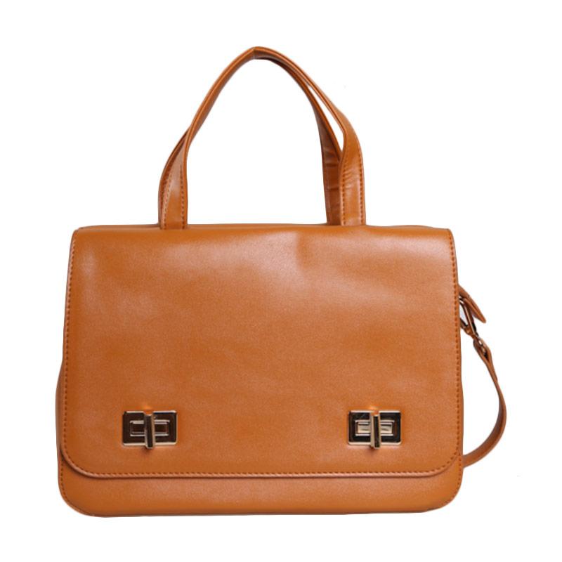 Verzoni YL-15109 Amber Camel Handbag