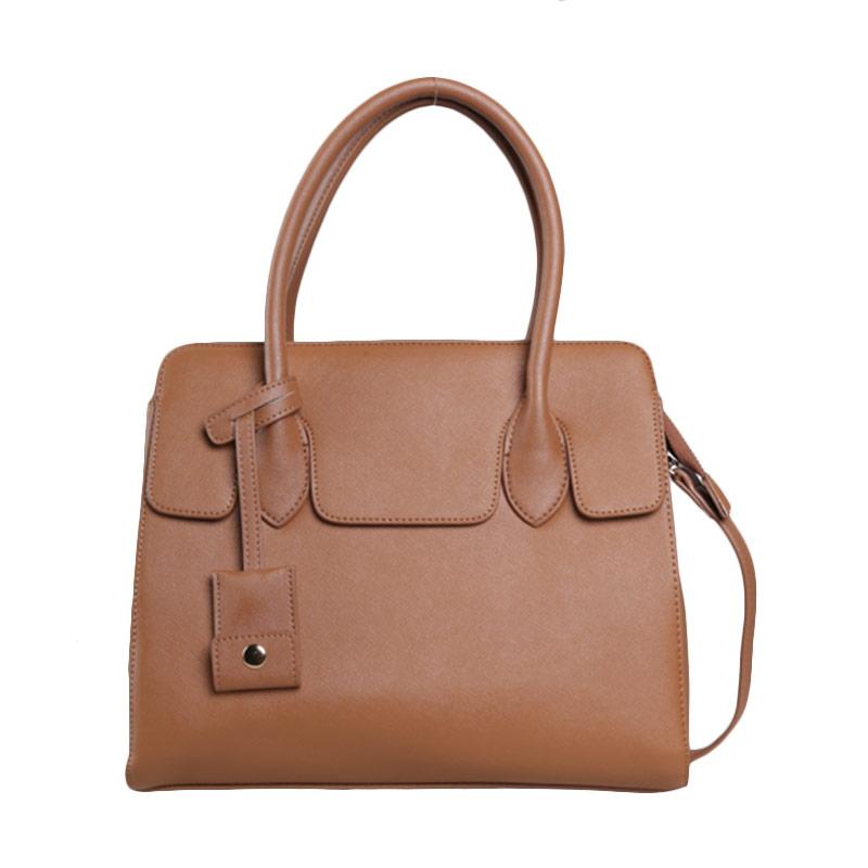 Verzoni YL-15110 Thalia Camel Handbag