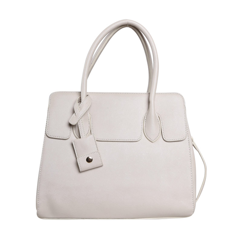 Verzoni YL-15110 Thalia Grey White Handbag
