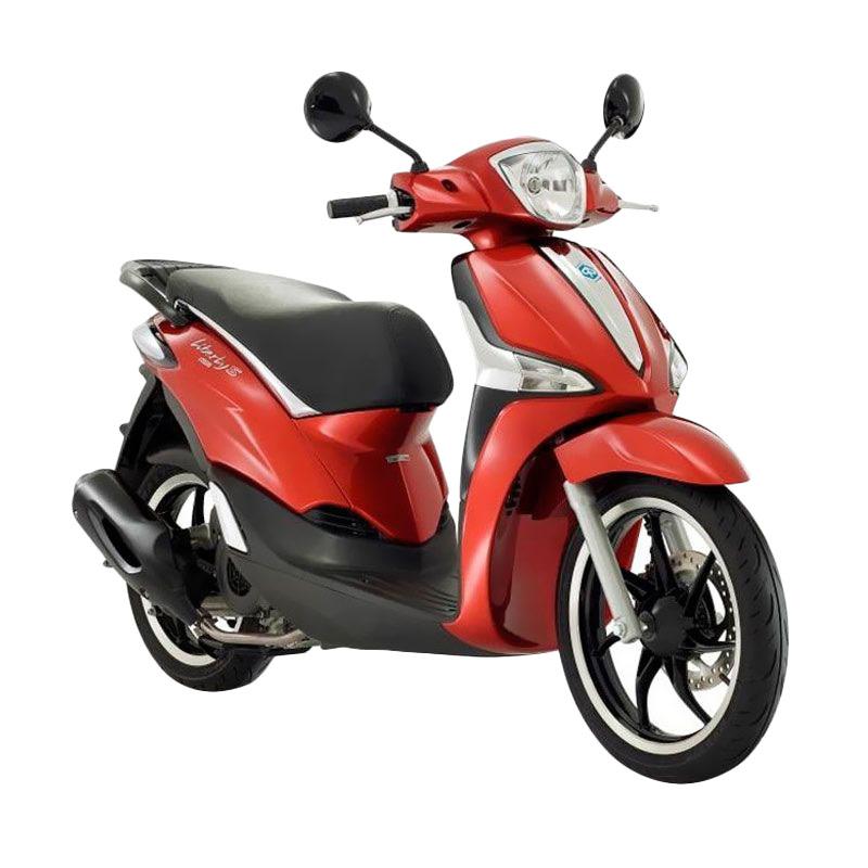 harga Vespa Piaggio New Liberty 150 ABS S i-Get Rosso Ibis Sepeda Motor [OTR Aceh & Pekanbaru] Blibli.com