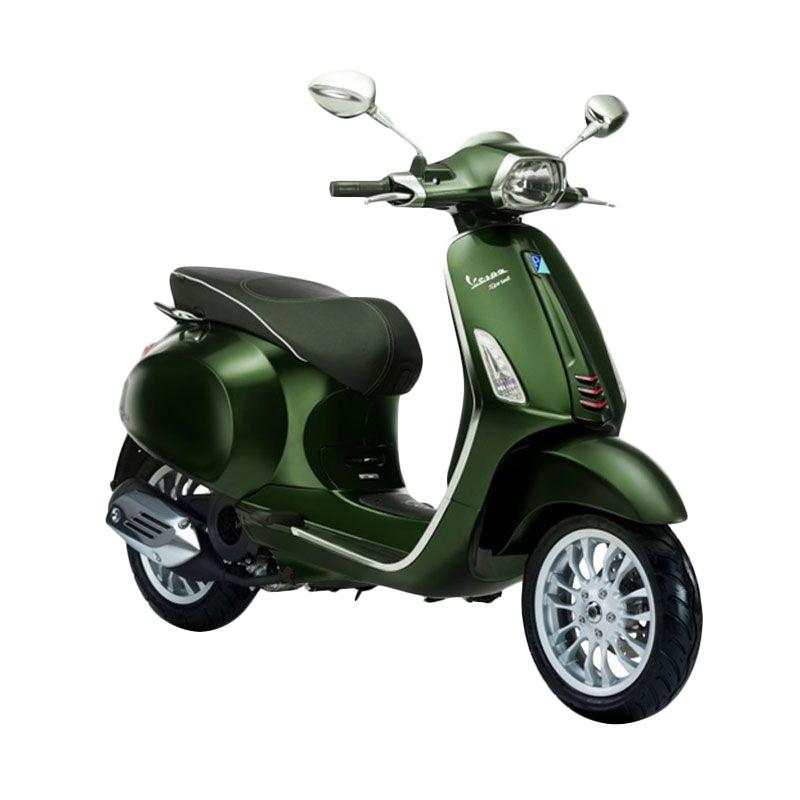 Jual Vespa Sprint 150 i-Get Verde Muschio Sepeda Motor