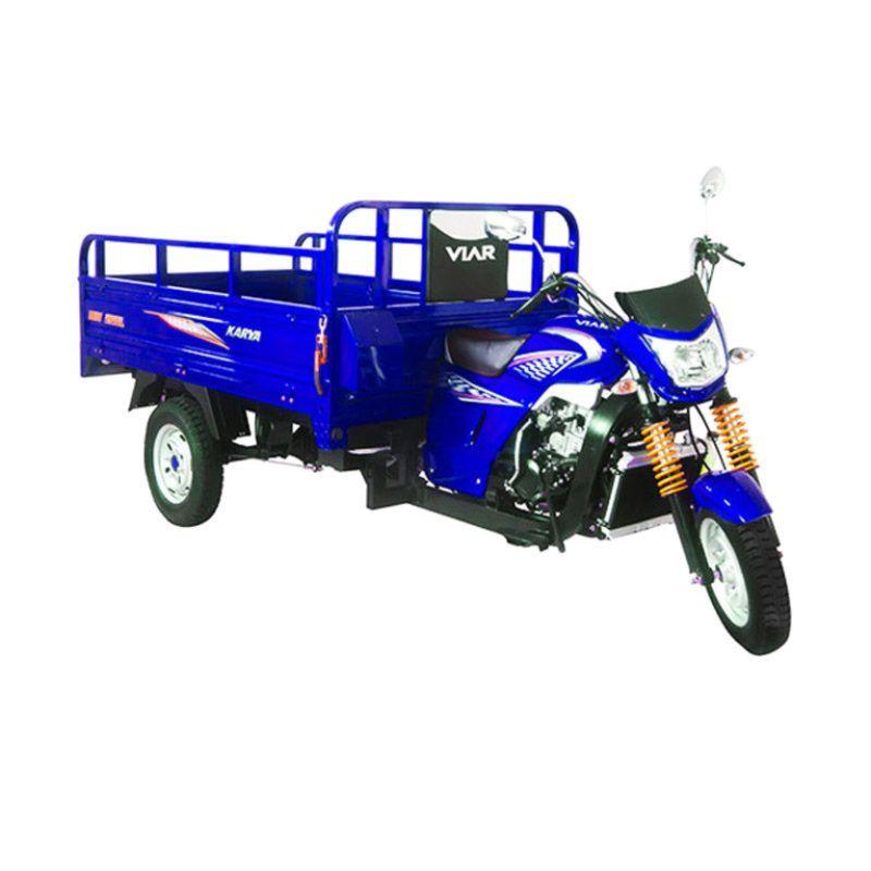 Viar Motor Karya 150 L - Sepeda Motor Niaga (Biru) (Jadetabek)