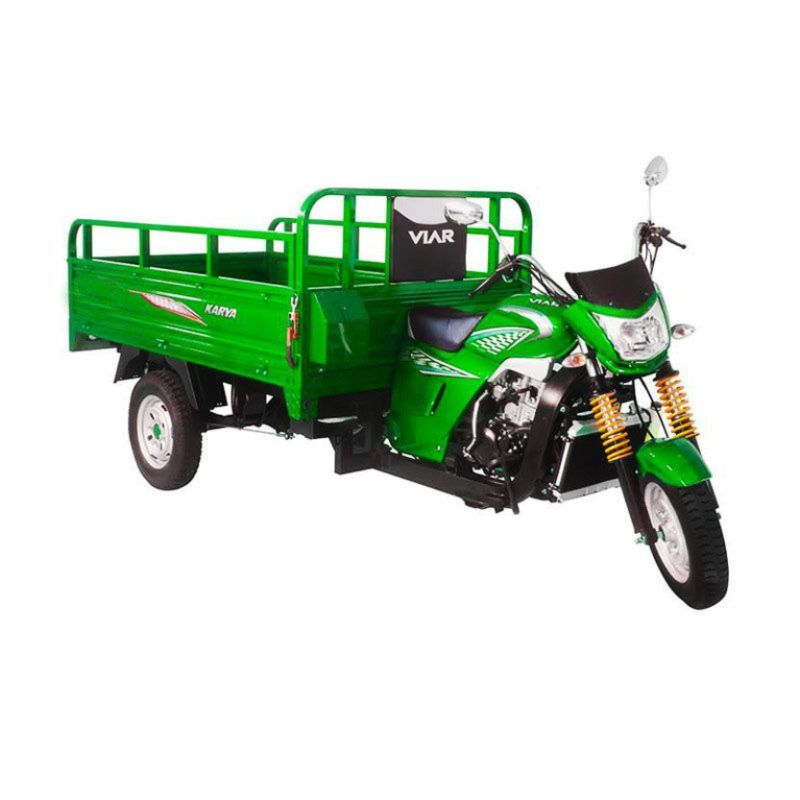 Viar Motor Karya 200 - Sepeda Motor Niaga (Hijau) (Jadetabek)