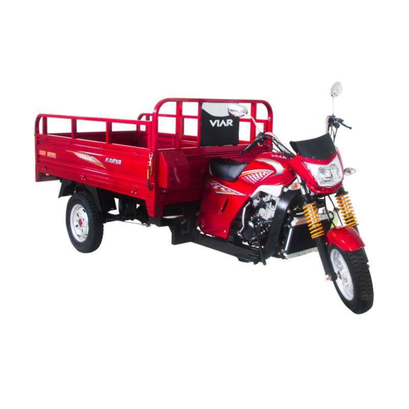 Viar New Karya 200 Merah Sepeda Motor (Jadetabekser) (Merah)
