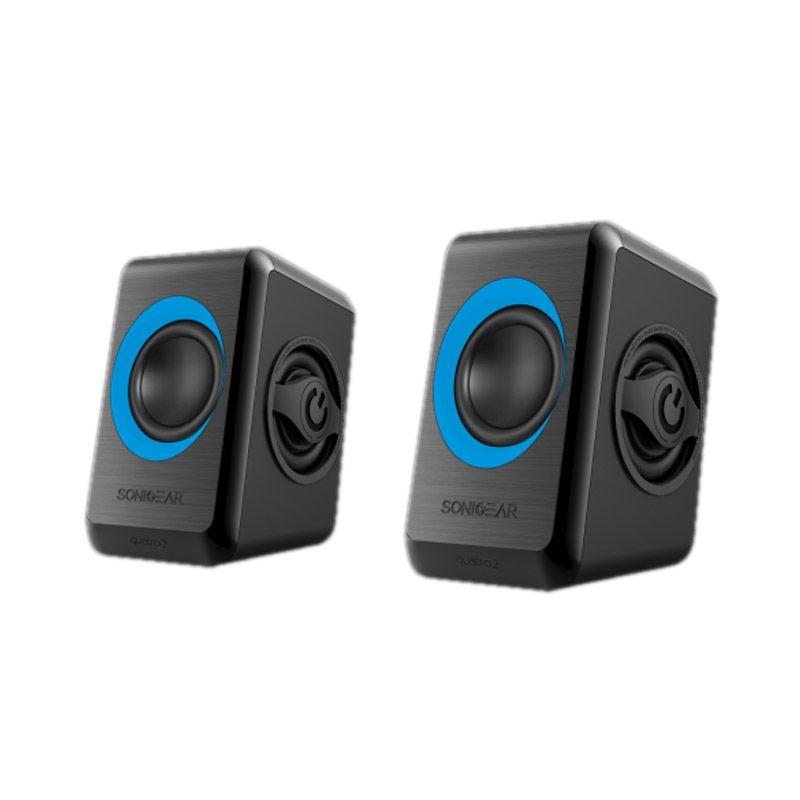 Sonic Gear Quatro 2 Biru Speaker Komputer
