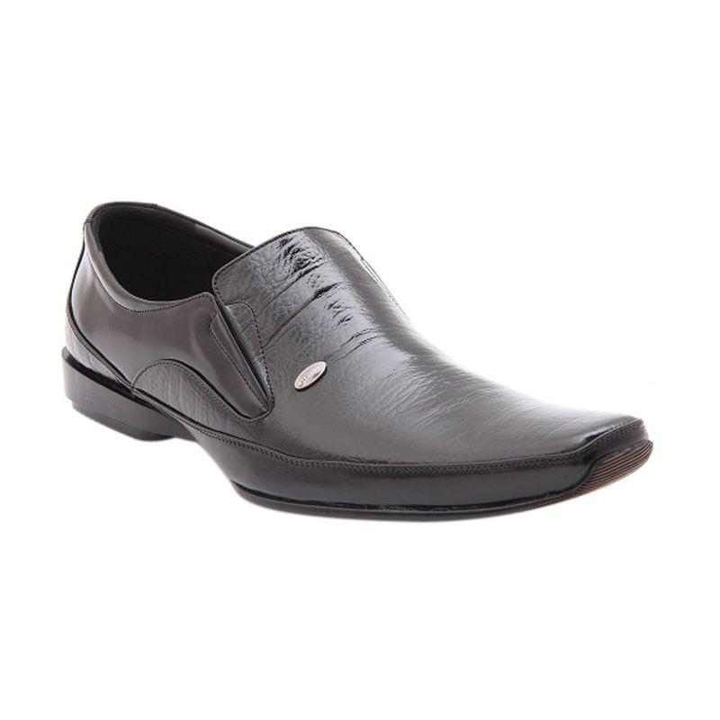 LEOGAREN 1107 Hitam Sepatu Pria