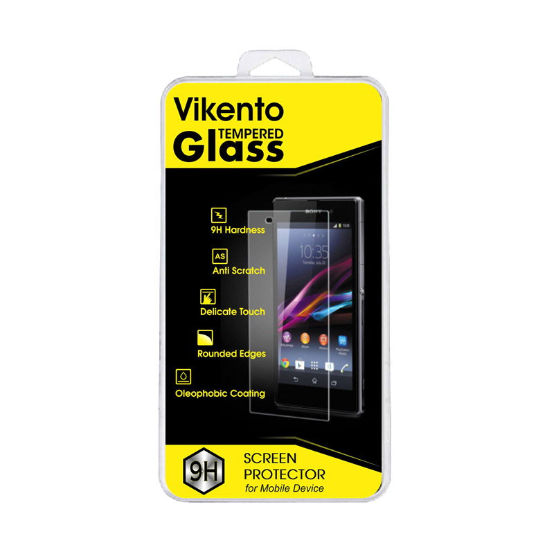 Vikento Tempered Glass Screen Protector for Sony Xperia Z1 Mini