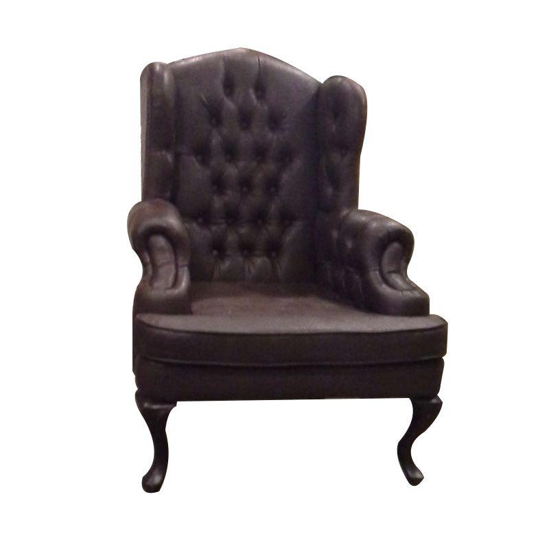 The Shabby Sister Brown Kursi Sofa