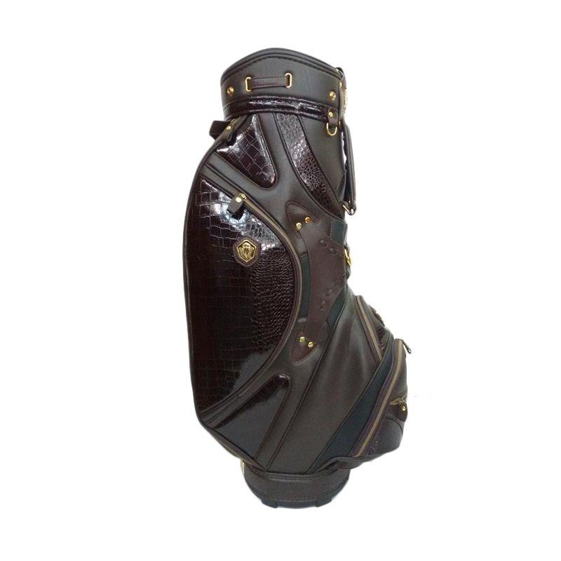 BAG BGR Golf Maruman Majesty Kulit Buaya Tas Golf