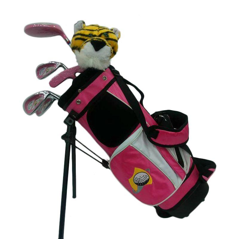 VIP Junior Fine Edge 3 Pink Set Stick Golf