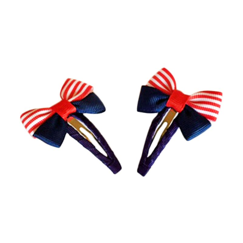 Visse Gardenia Hair Clips