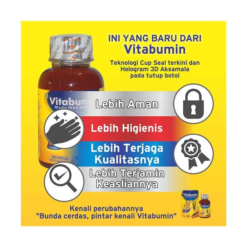 harga Vitabumin Madu Ikan Gabus [130 mL / Paket 2 Botol] Blibli.com