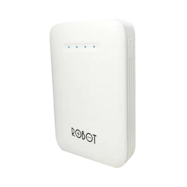 Vivan Robot RT6800 Powerbank - White [6600 mAh]