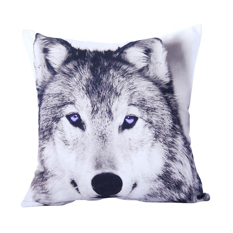 VIVERE Siberian Husky Whigra Cushion Cover [45 x 45 cm]