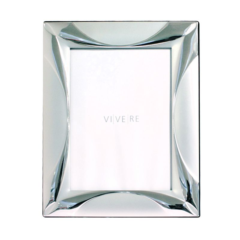 VIVERE Std Curvy Sil Photo Frame [5 x 7 Inch]
