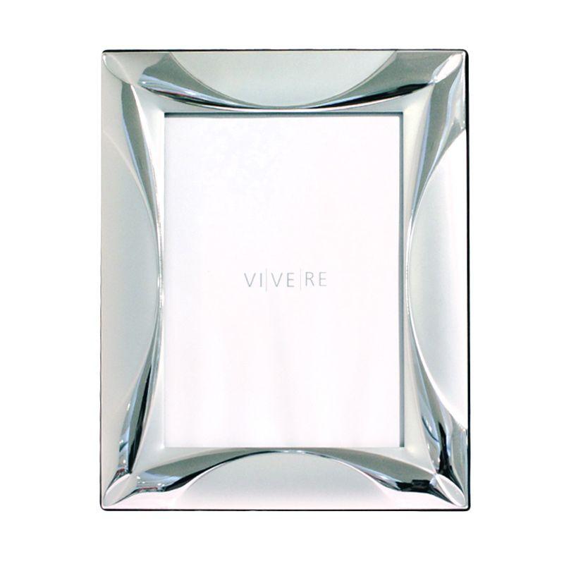 VIVERE Std Curvy Sil Photo Frame [5 x 7 Inch]