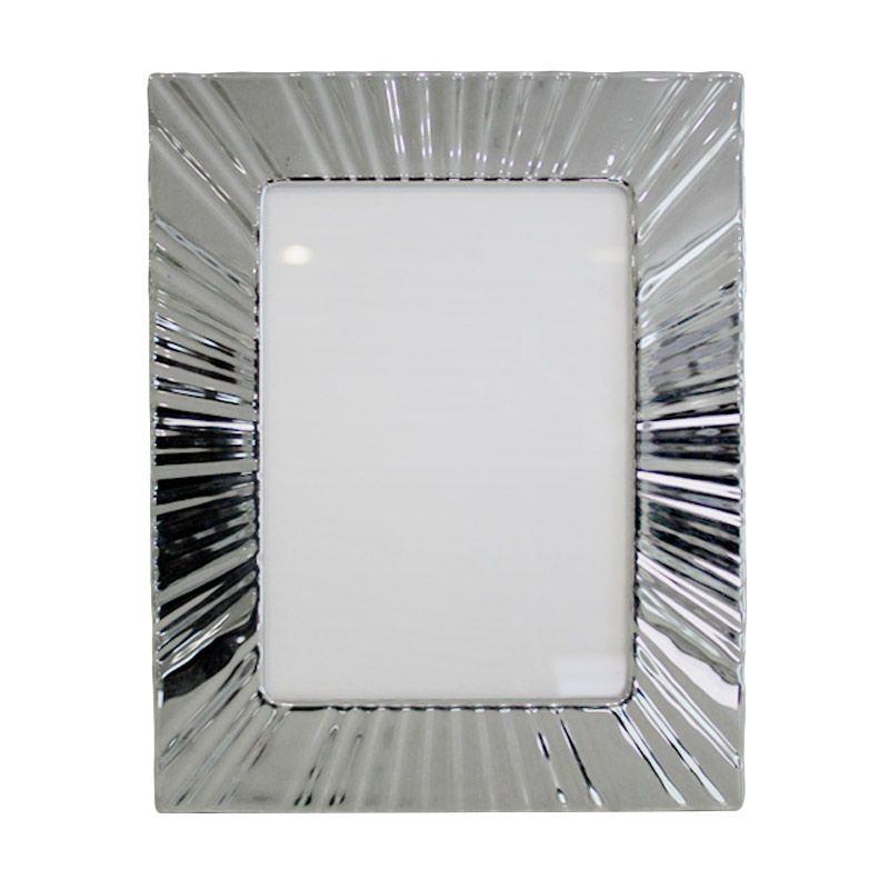 VIVERE Std Eclipse Silver Photo Frame [5 x 7 Inch]