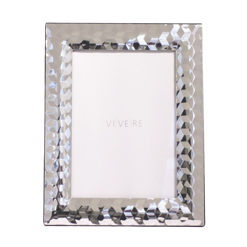 VIVERE Std Pixel Sil Photo Frame [ 4x6 Inch]
