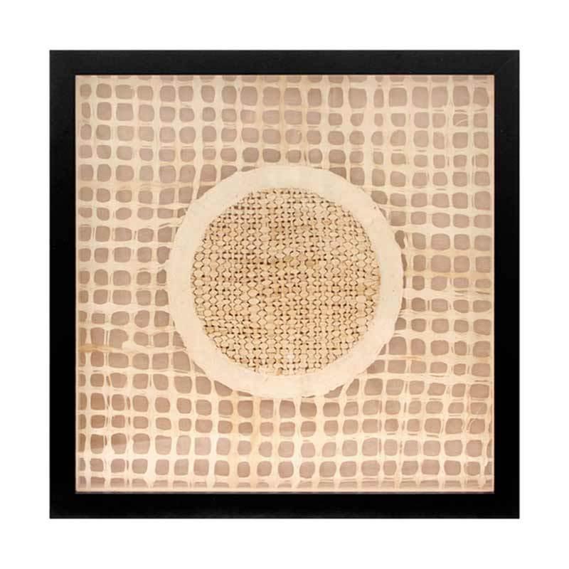 VIVERE Wall Deco Roundo Cream 50 x 50 cm