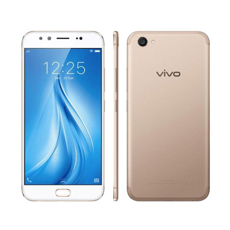Vivo V5 Plus Smartphone - Gold [64 GB/4 GB RAM]