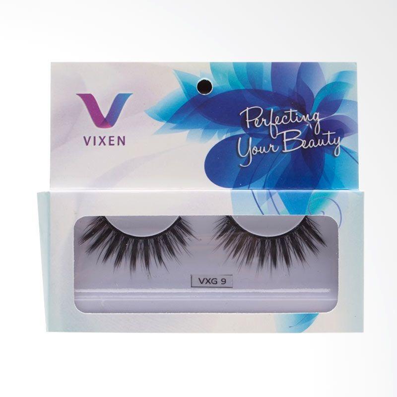 Vixen Glam Premium The Vixen-9 Hitam Bulu Mata Palsu