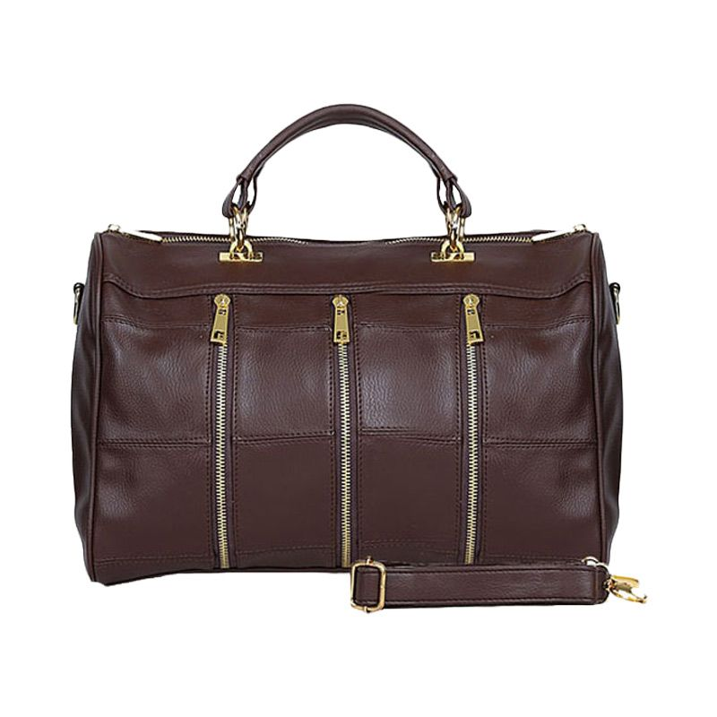Viyar Cherry Dark Brown Tas Tangan